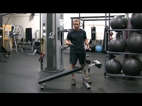 How to Use a Sit-Up Bench : Advanced Exercise Tips