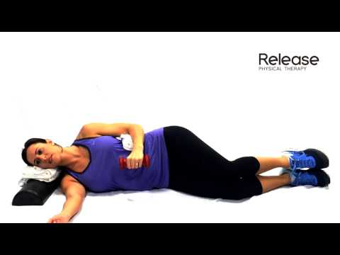 Sidelying Shoulder External Rotation with Dumbbell Exercise