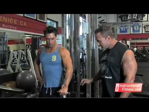 Instructional Fitness - Front Cable Raises