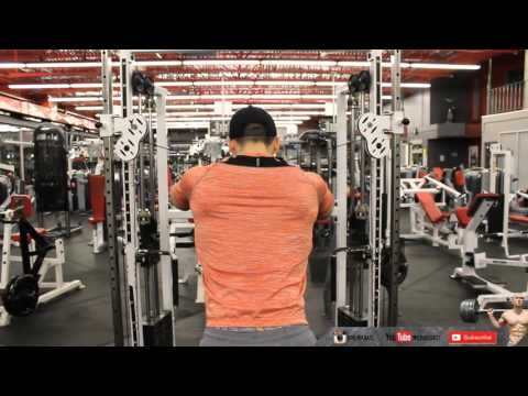 Reverse Cable Fly - Rear Delt - A must !