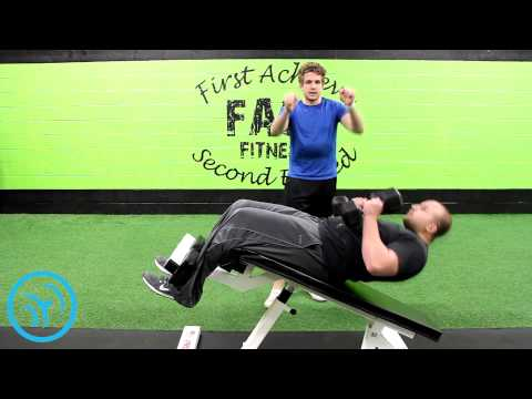 How To: Decline Dumbbell Fly