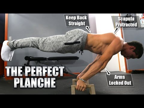 How To Planche For Beginners 2016 [4k]