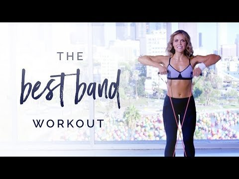 Tone It Up | The BEST Band Workout!