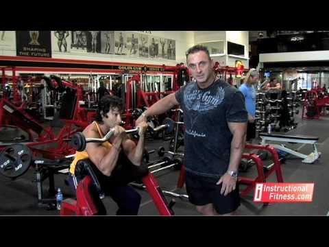 Instructional Fitness - Preacher Curls
