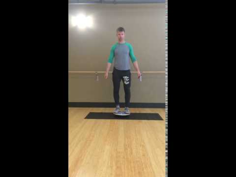 Balance Board Exercise #1: Basic Stance Balance