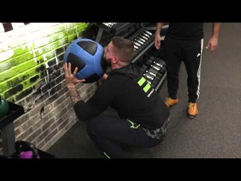 How to Use a Wall Ball - VENT Fitness Friday   Clifton Park, NY