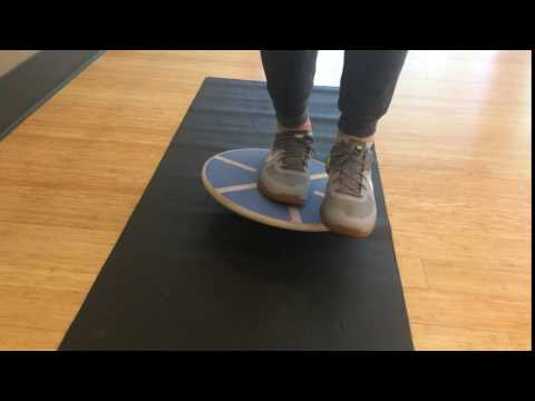 Balance Board Exercise #7: Single Foot Side to Side