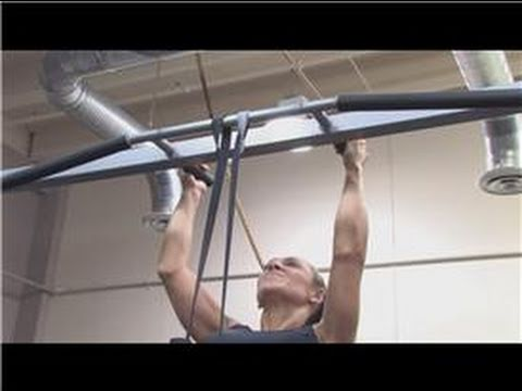 Building Your Body for Sports : How to Hang Resistance Bands for Assisted Pull-Ups