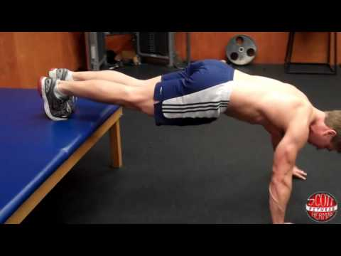 How To: Decline Push-Up