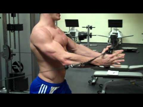 How To: Middle Cable Chest Fly