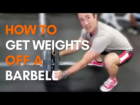 Loading and Unloading Plates From a Barbell, How To