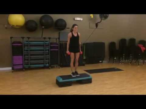 Best Leg Exercises for Women #7: Step Up