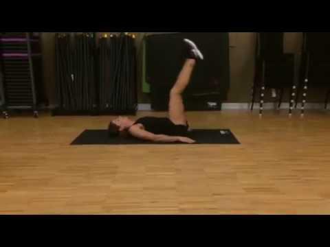 Best Ab Exercises for Women #3: Reverse Crunch