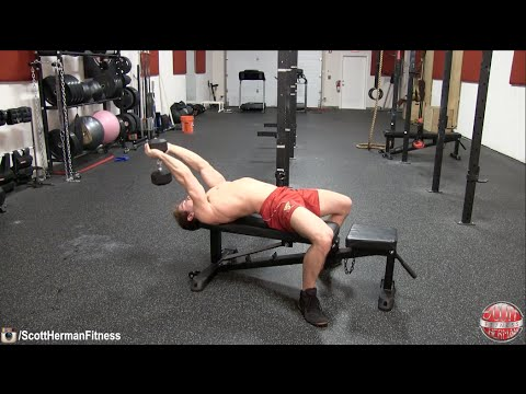 How To: Dumbbell Pull-Over (Target Chest Or Lats)