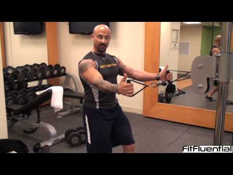 Full Body Workout with a Cable Crossover Machine