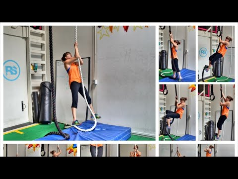 How To Climb a Rope - 11 Rope Climb Variations
