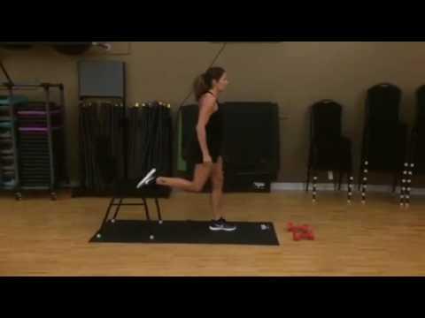 Best Leg Exercises for Women #3: Split Squat