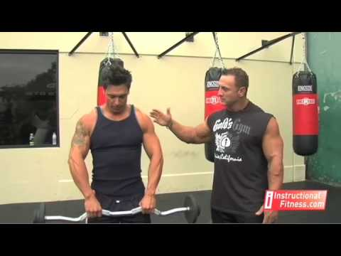 Instructional Fitness - Barbell Upright Rows