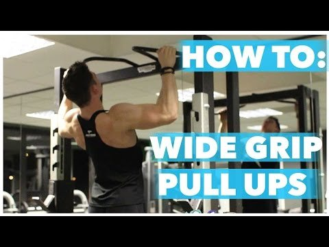 How to: Wide grip pull up