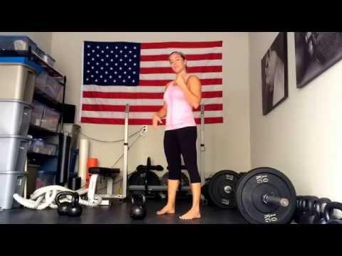 Karen Smith Master SFG - One Arm KB Swing tutorial
