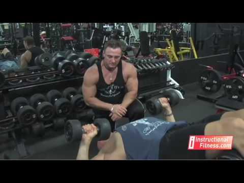 Instructional Fitness - Decline Dumbbell Bench Press