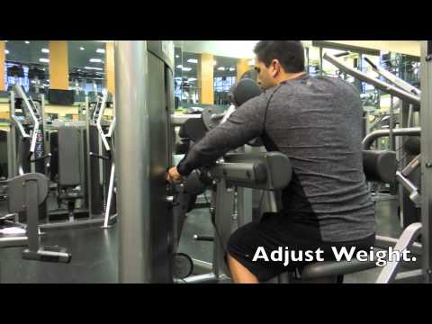 How To Use The Lateral Raise Machine - Exercise Video