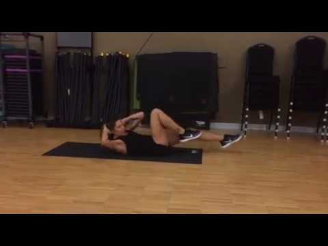 Best Ab Exercises for Women #2: Bicycle Crunch