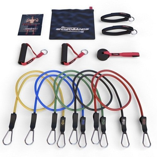 Master of Muscle - Resistance Bands - 11pc Set