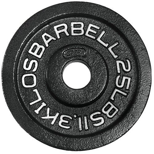 Olympic weight plate (aka plate – or simply referred to by their weight value)