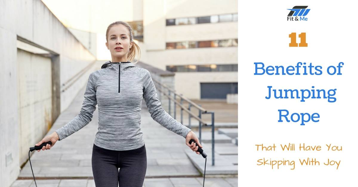 11 Benefits of Jumping Rope That Will Have You Skipping With Joy