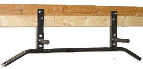 MS Sports Joist Mounted Pull Up Bar with Neutral Grip Handles