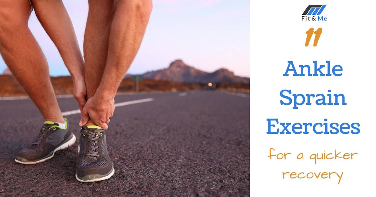 11 Ankle Sprain Exercises for a Quicker Recovery