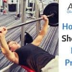 How Much Should I Be Bench Pressing?