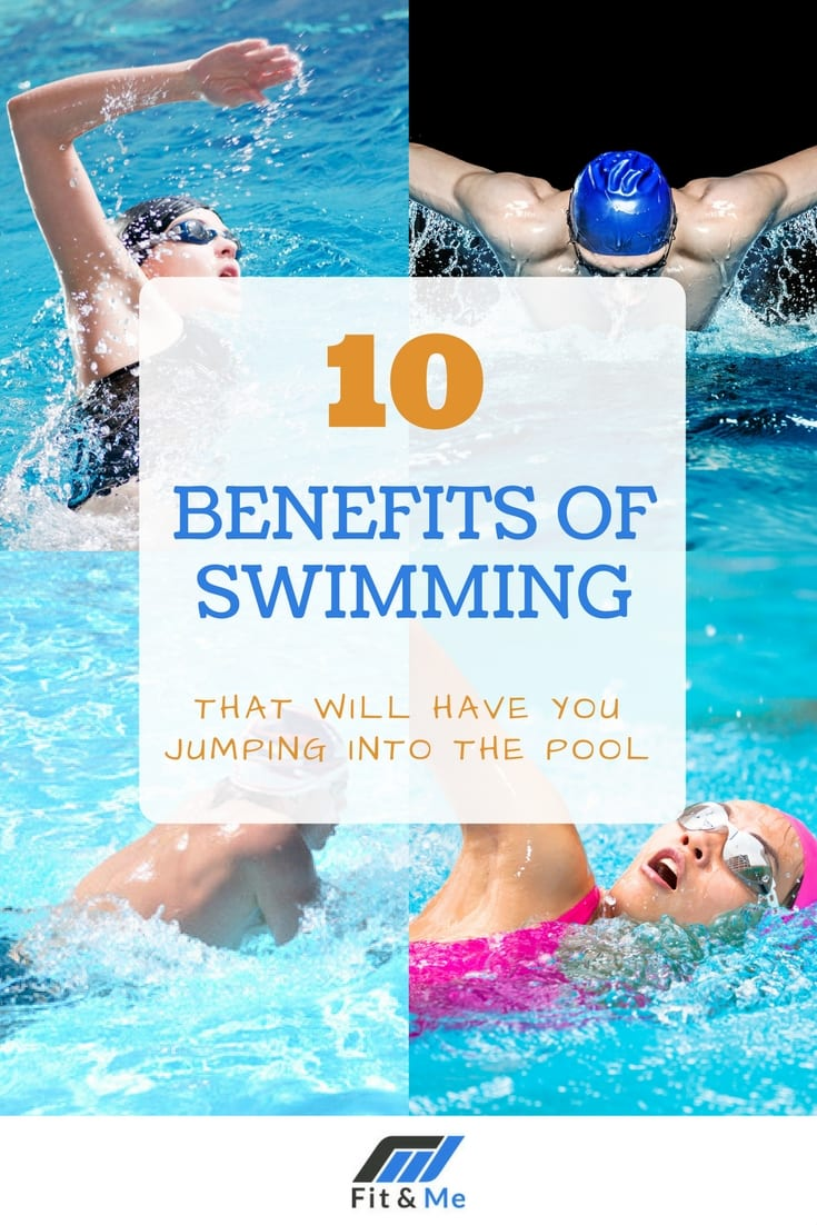 10 Benefits of Swimming That Will Have You Jumping Into The Pool