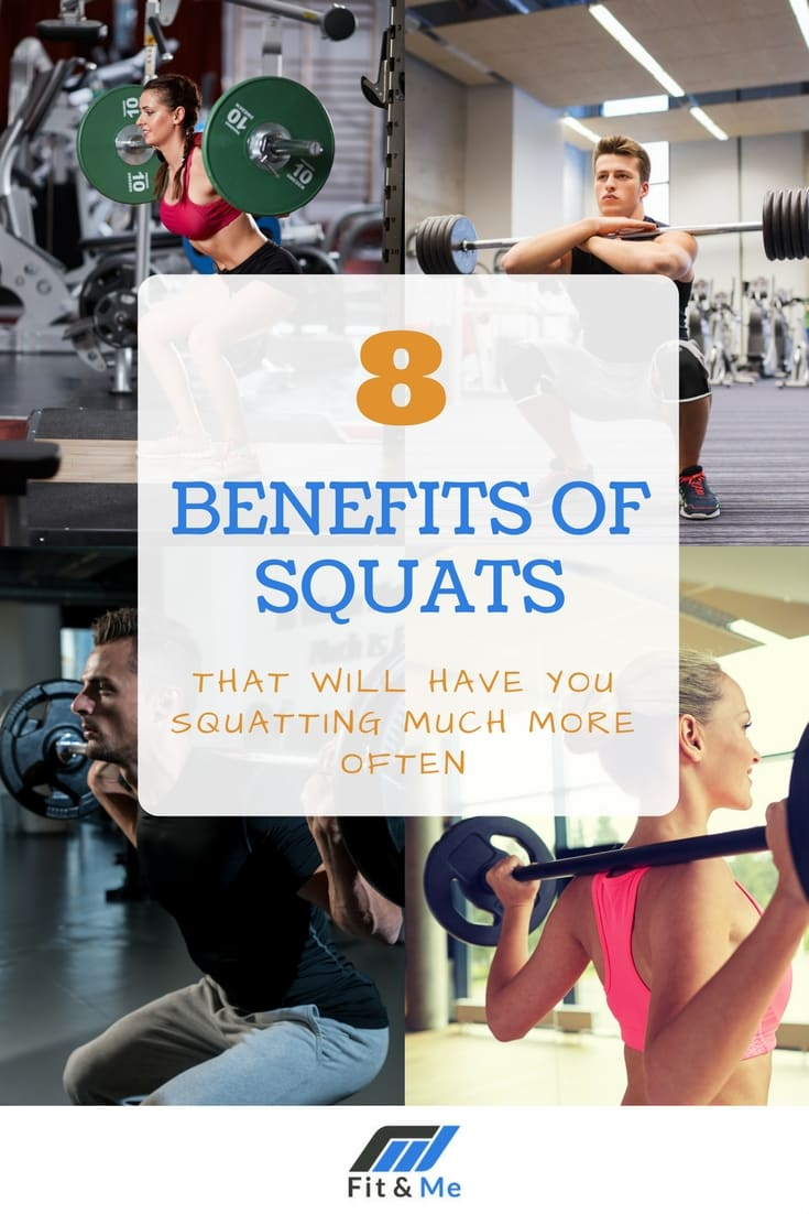 8 Benefits of Squats That Will Have You Squatting Much More Often