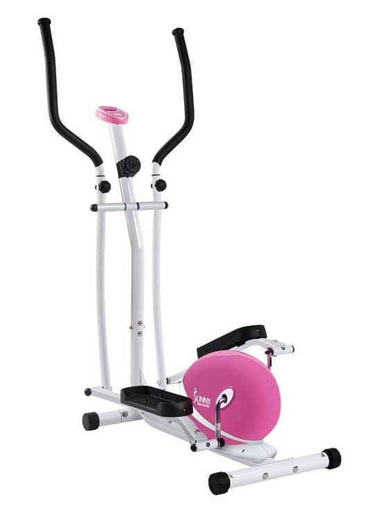 Sunny Health & Fitness P8300 Pink Magnetic Elliptical Trainer Review