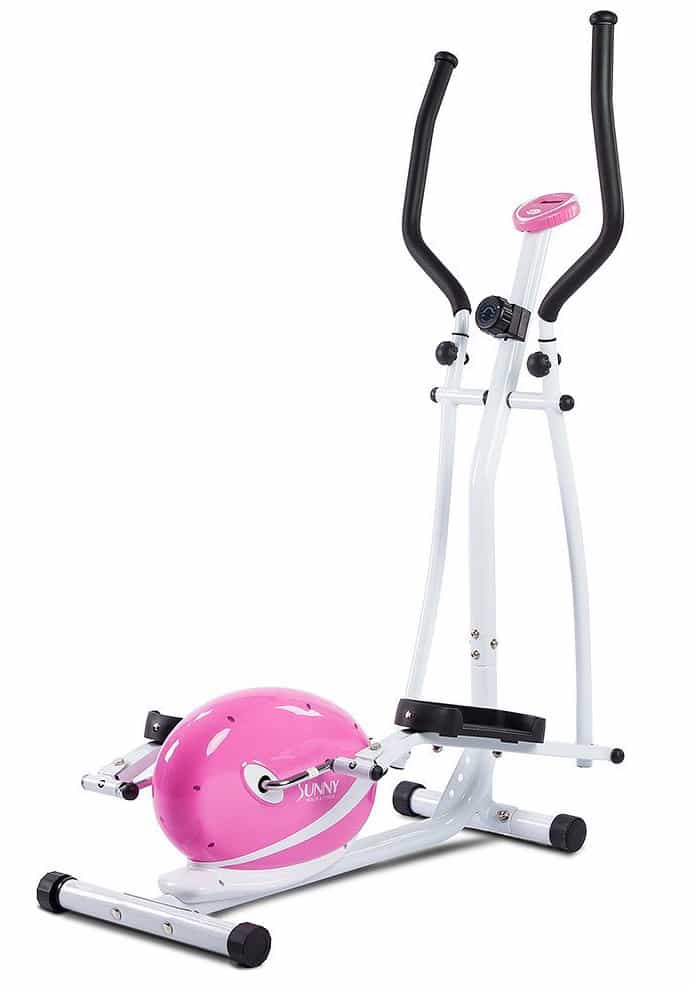 Elliptical Machine Reviews >> Sunny Health & Fitness P8300 Pink Magnetic Elliptical Trainer Review