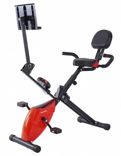 Ancheer Folding Recumbent Exercise Bike Review