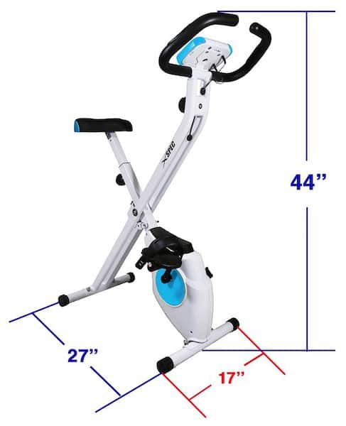 Xspec Foldable Upright Exercise Bike Review